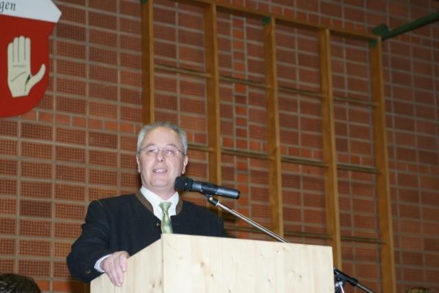 Josef Köberle, Bürgermeister Argenbühl